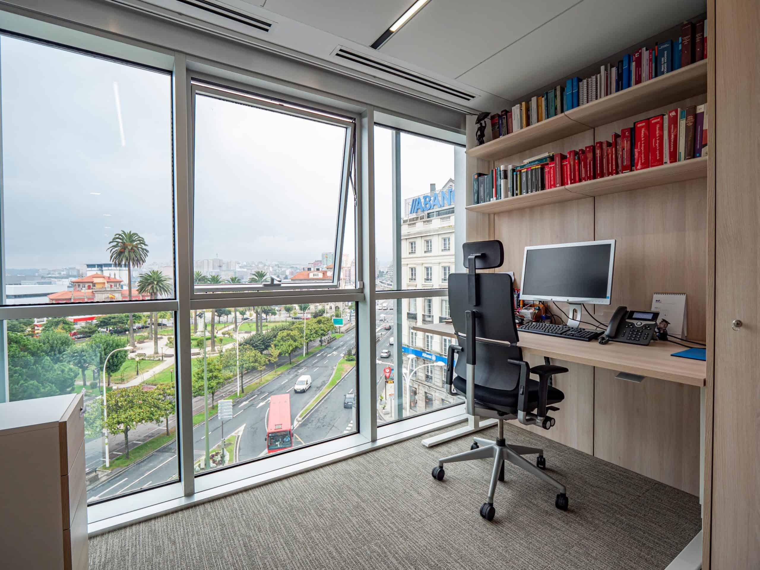 Imagen despacho proyecto Design&Build oficinas Garrigues