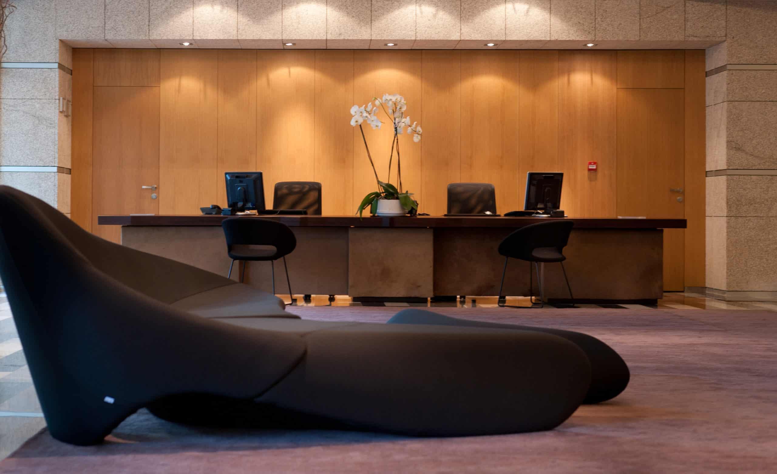 Imagen de equipamiento hall hotel Valbusenda