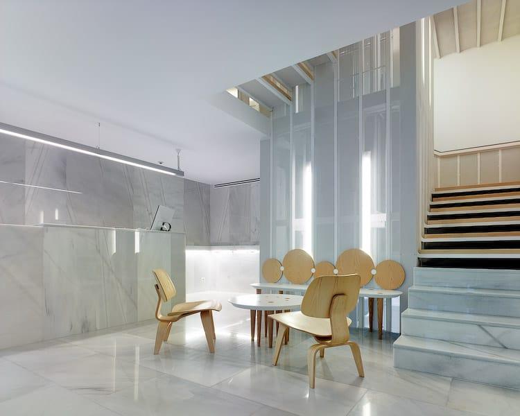 Imagen del equipamiento hall hotel Pazo de Altamira