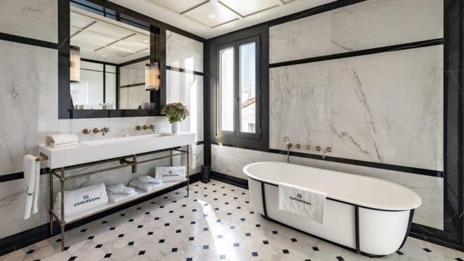 Imagen del equipamiento baño hotel Coolrooms Atocha