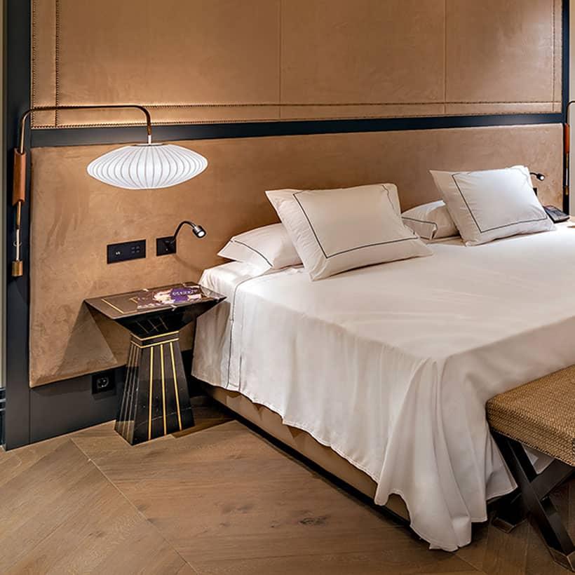 Imagen detalle del equipamiento habitacion hotel Coolrooms Atocha