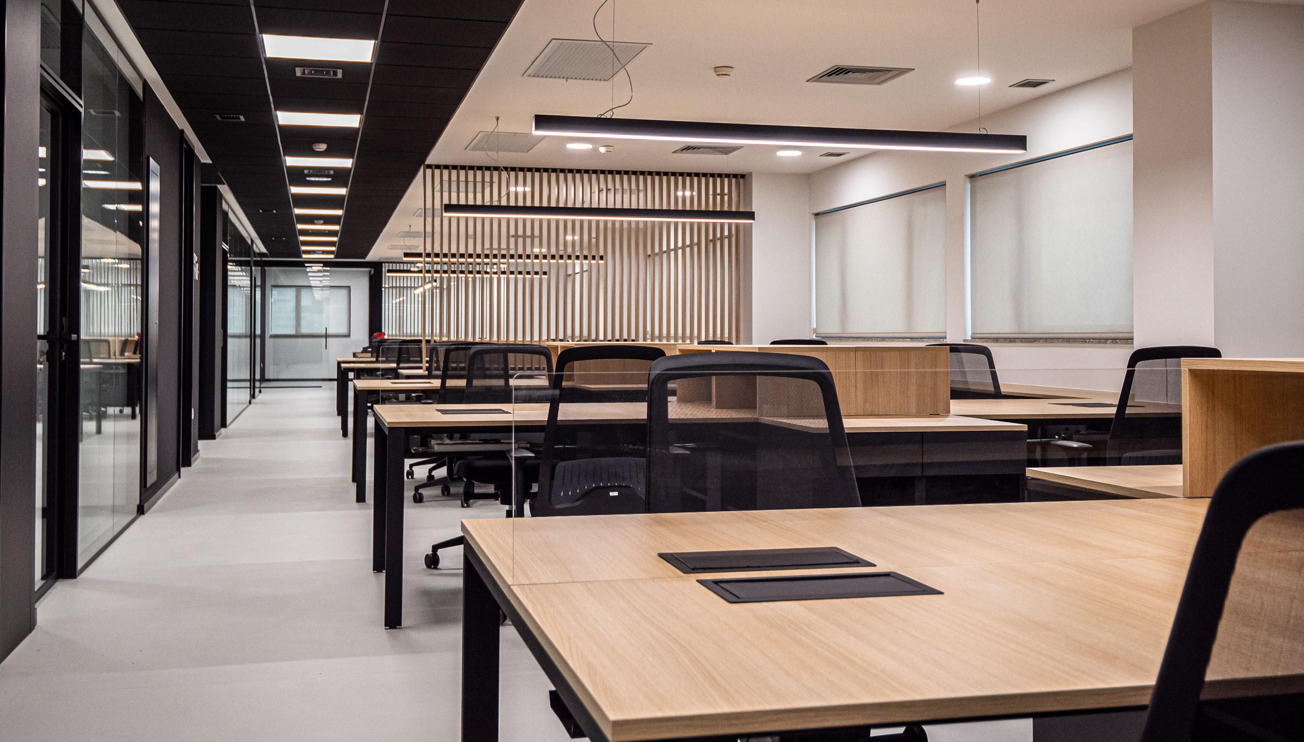 Imagen del equipamiento open space oficinas IDIS