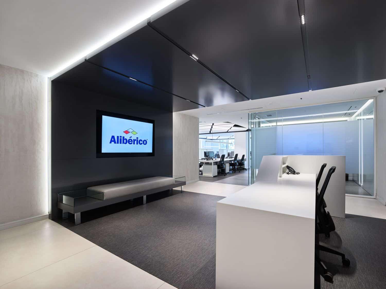 Imagen recepción oficinas Alibérico