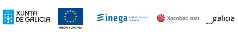 Instalación fotovoltaica FEDER Galicia | Logos