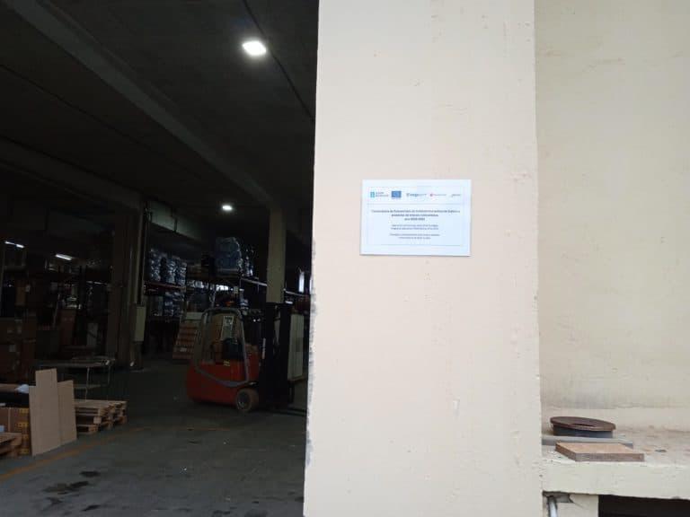 Instalación fotovoltaica FEDER Galicia   Carteles Suevos 2